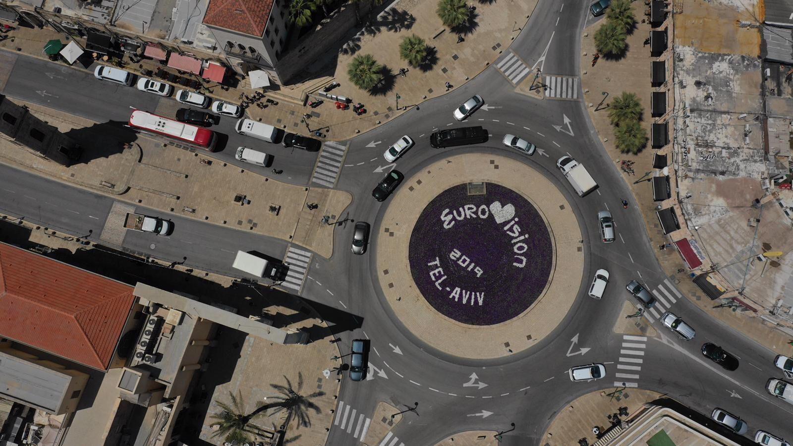 Евровидение 2019. Тель-Авив. Кикар шаон. Фото предоставлено пресс-службой мэрии Тель-Авива
