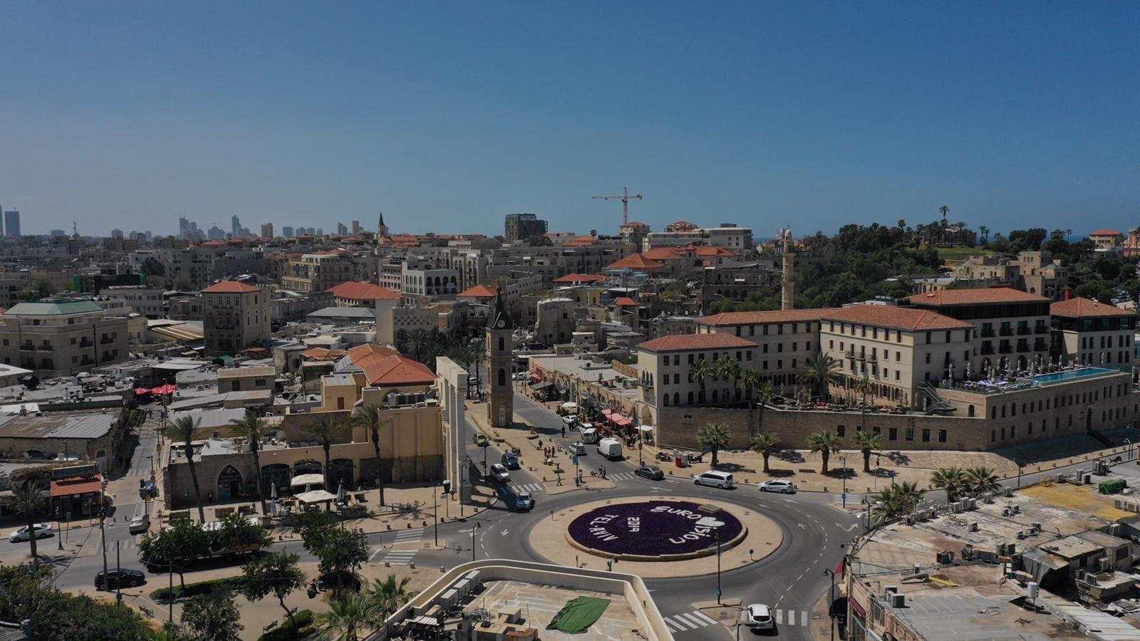 Евровидение 2019. Яффо-Тель-Авив. Фото предоставлено мэрией Тель-Авива