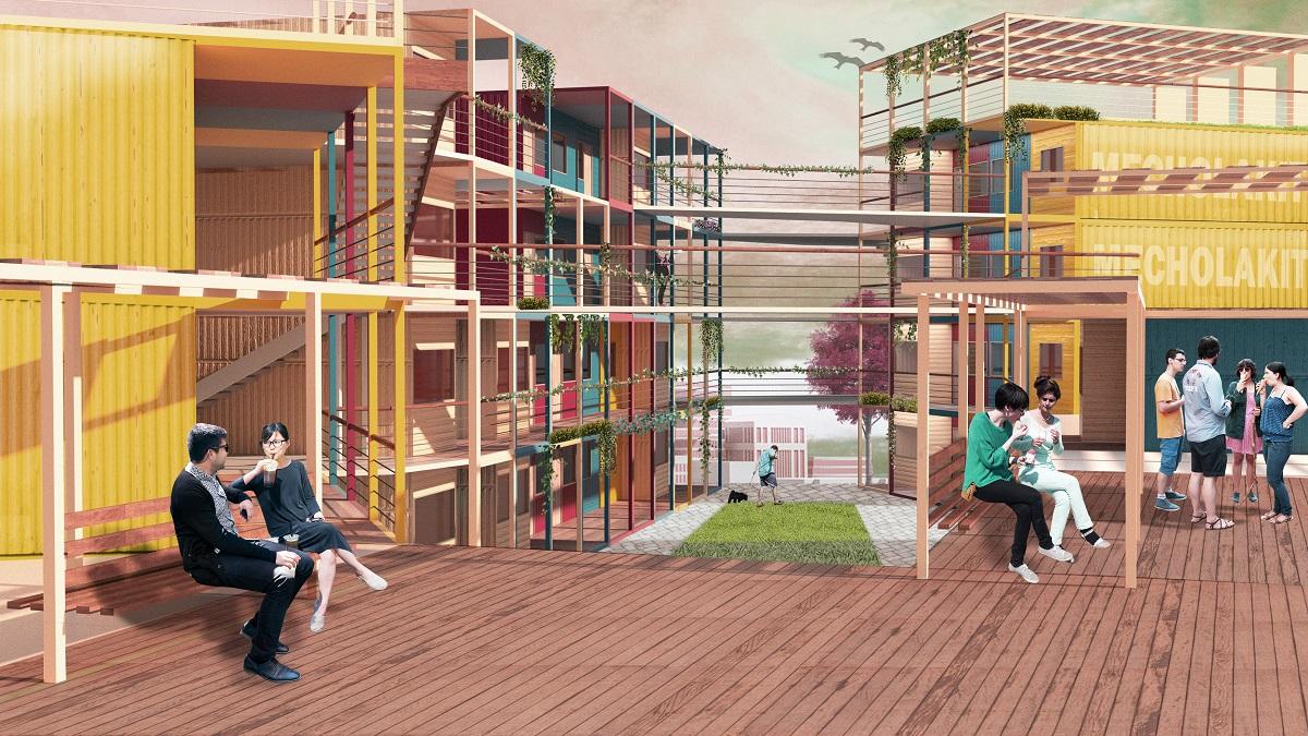 Контейнер. Проект студенческого городка
