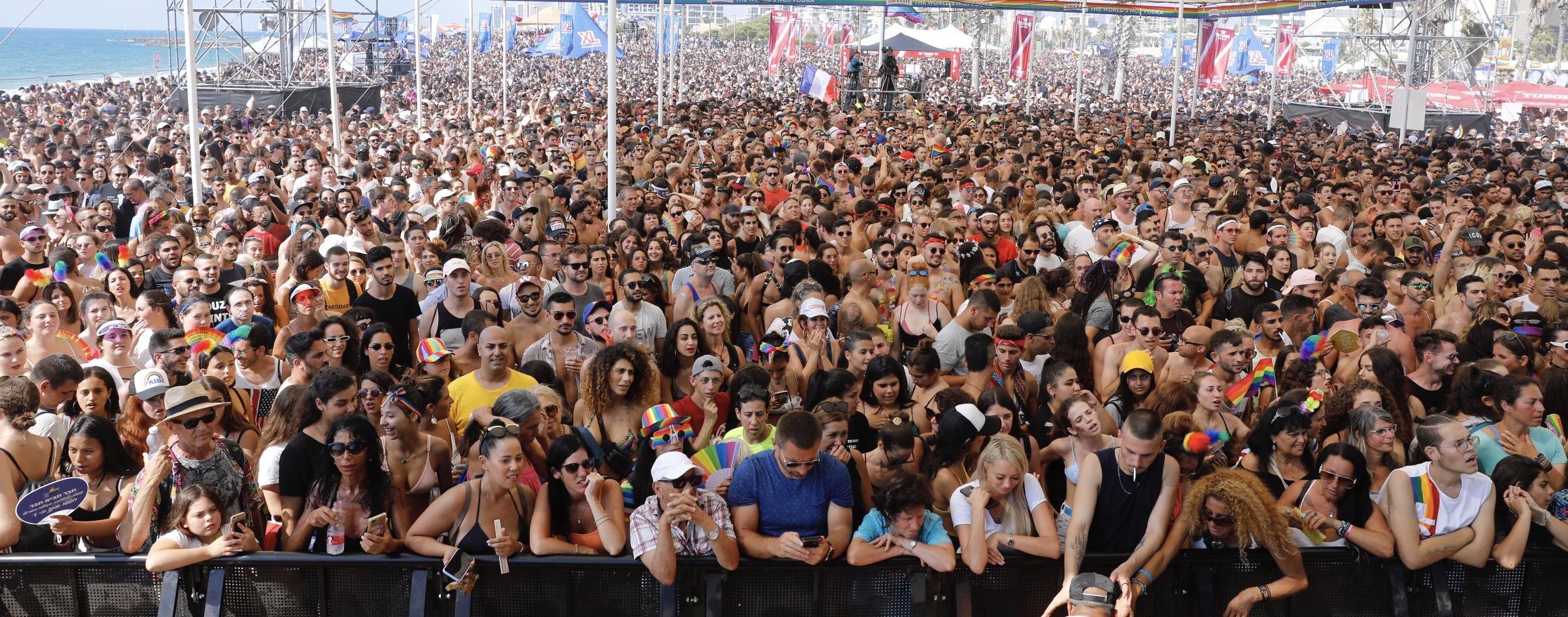 Гей-парад в Тель-Авиве. Фото: Гай Эшели