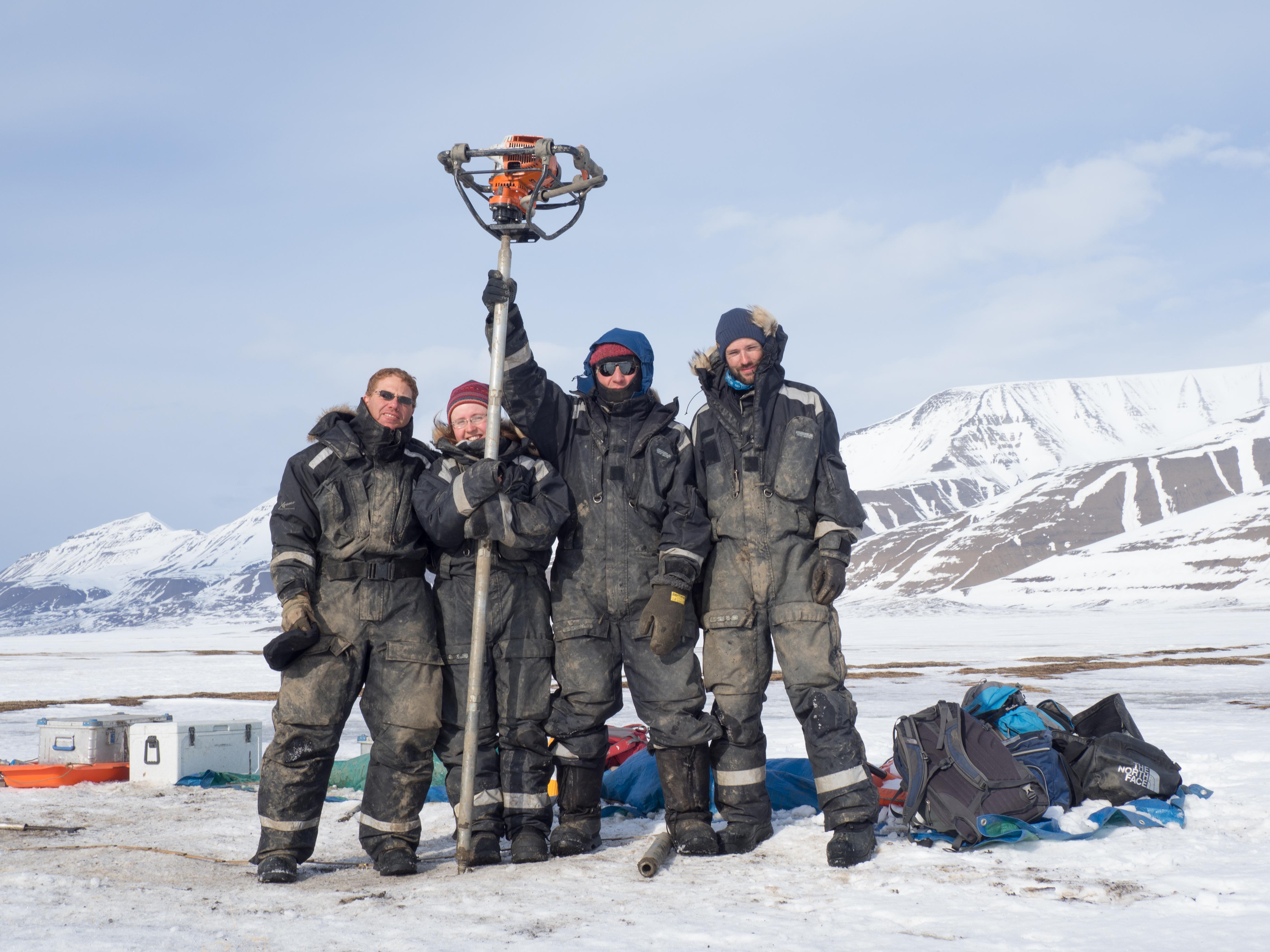 Глобальное потепление. Команда израильских исследователей в Заполярье. Фото: Дотан Ротем