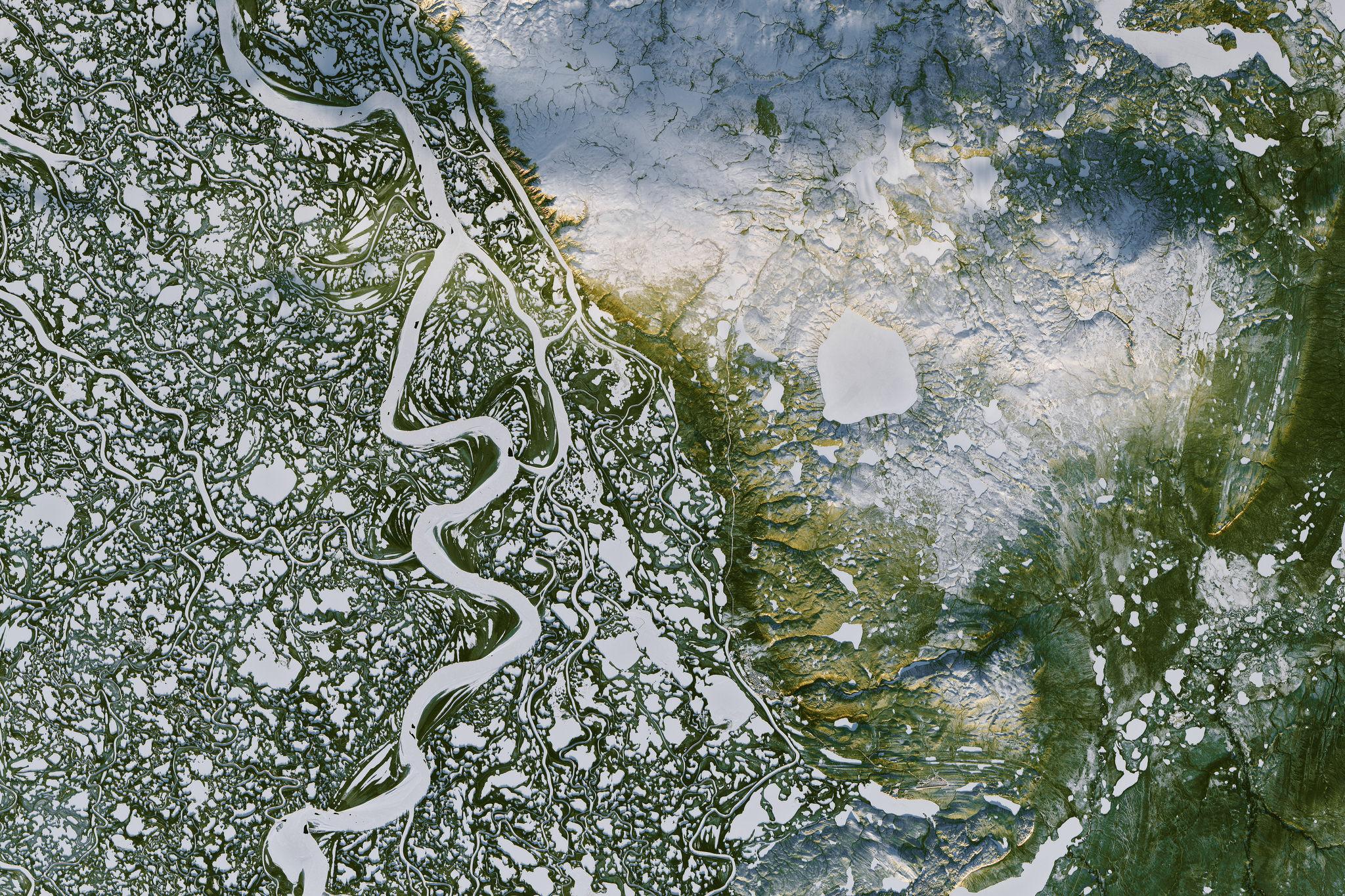 Глобальное потепление. Изменения в земном слое. Фото: НАСА.