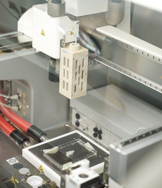 3d-принтер в Технионе печатает живые ткани
