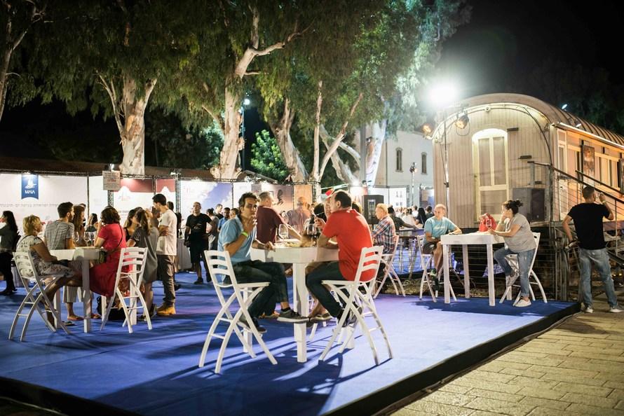 Вино в Израиле. Фото: Tom Goetz . Предоставлено Центром «Иш ха-Анавим»