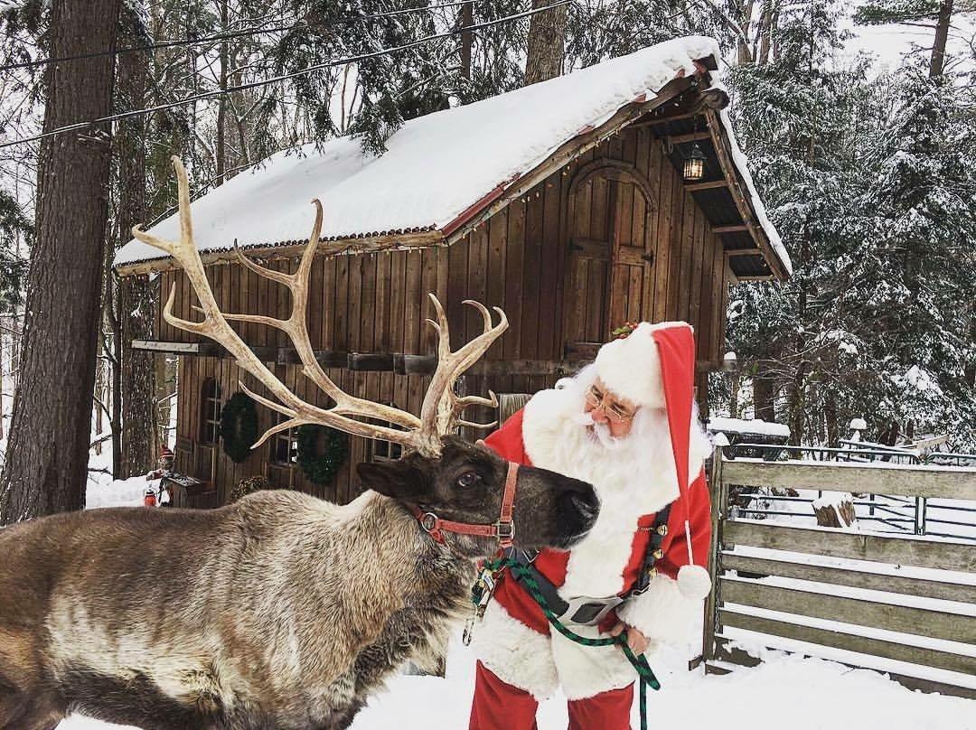 Санта-Клаус. Резиденция в Мичигане