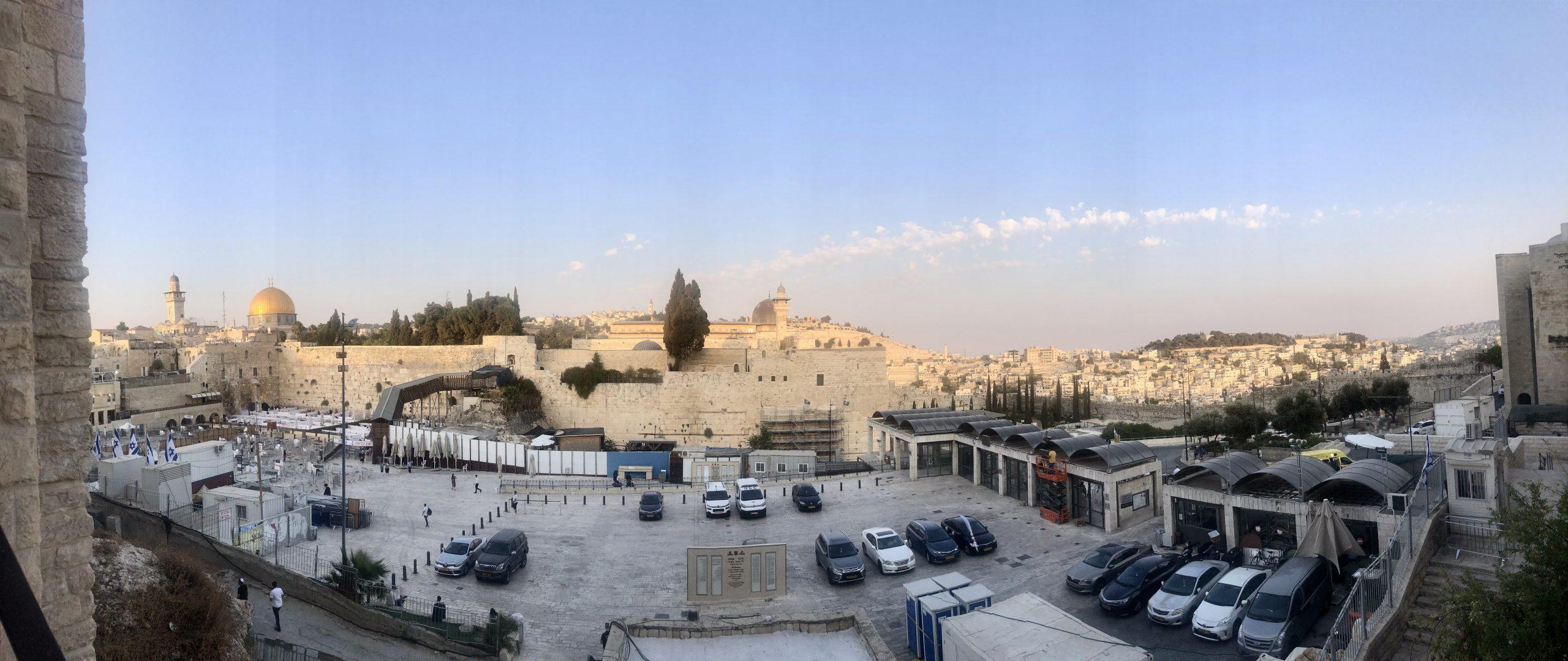 Израиль, туризм: Иерусалим в дни локдауна. Фото Елены Шафран
