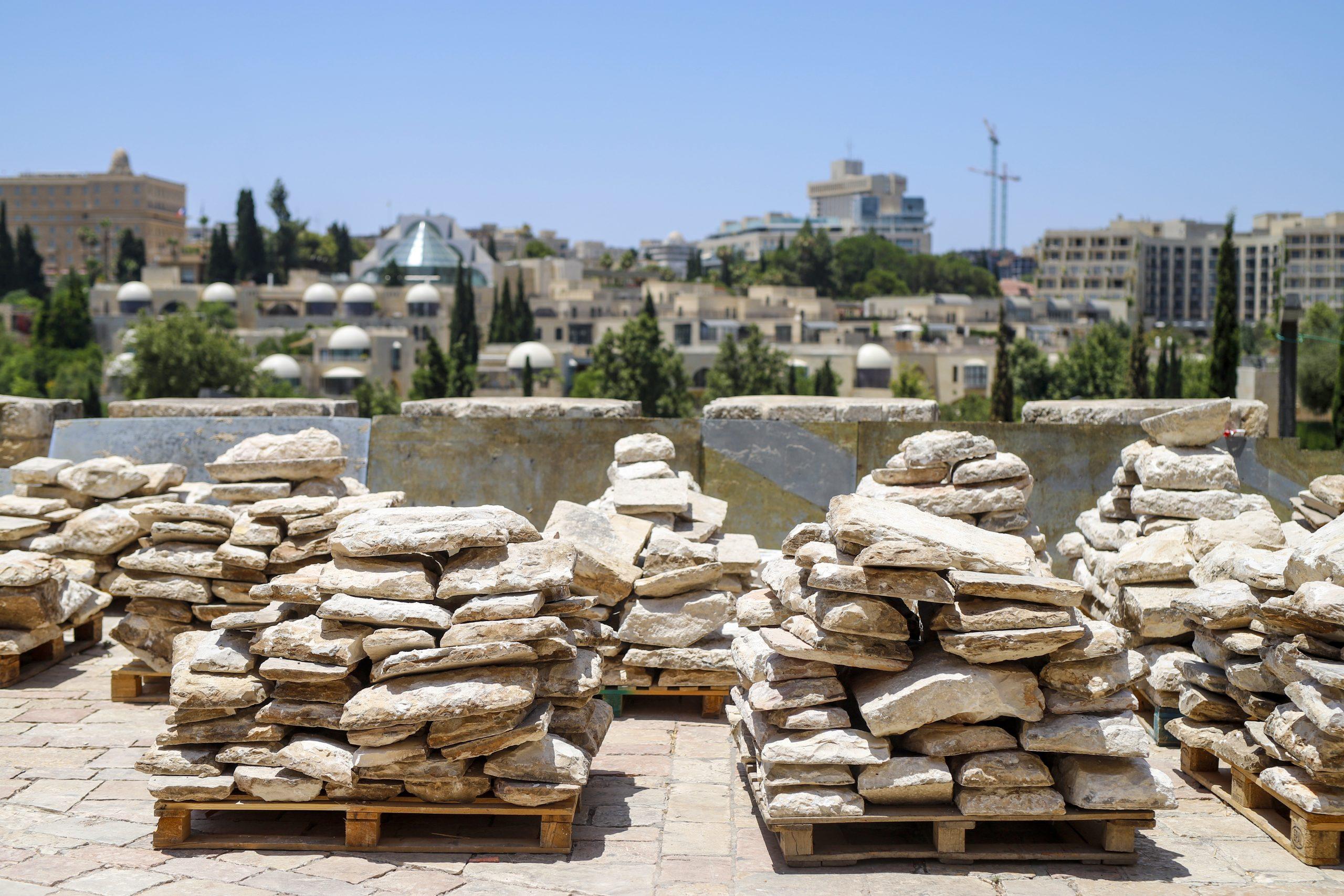 Иерусалим: камни вечности. Фото Рики Речмен. Предоставлено пресс-службой музея