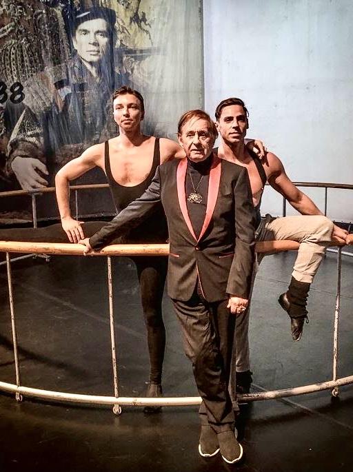 Роман Виктюк: 2017 год, перед спектаклем «Нежинский» Фото Елены Шафран