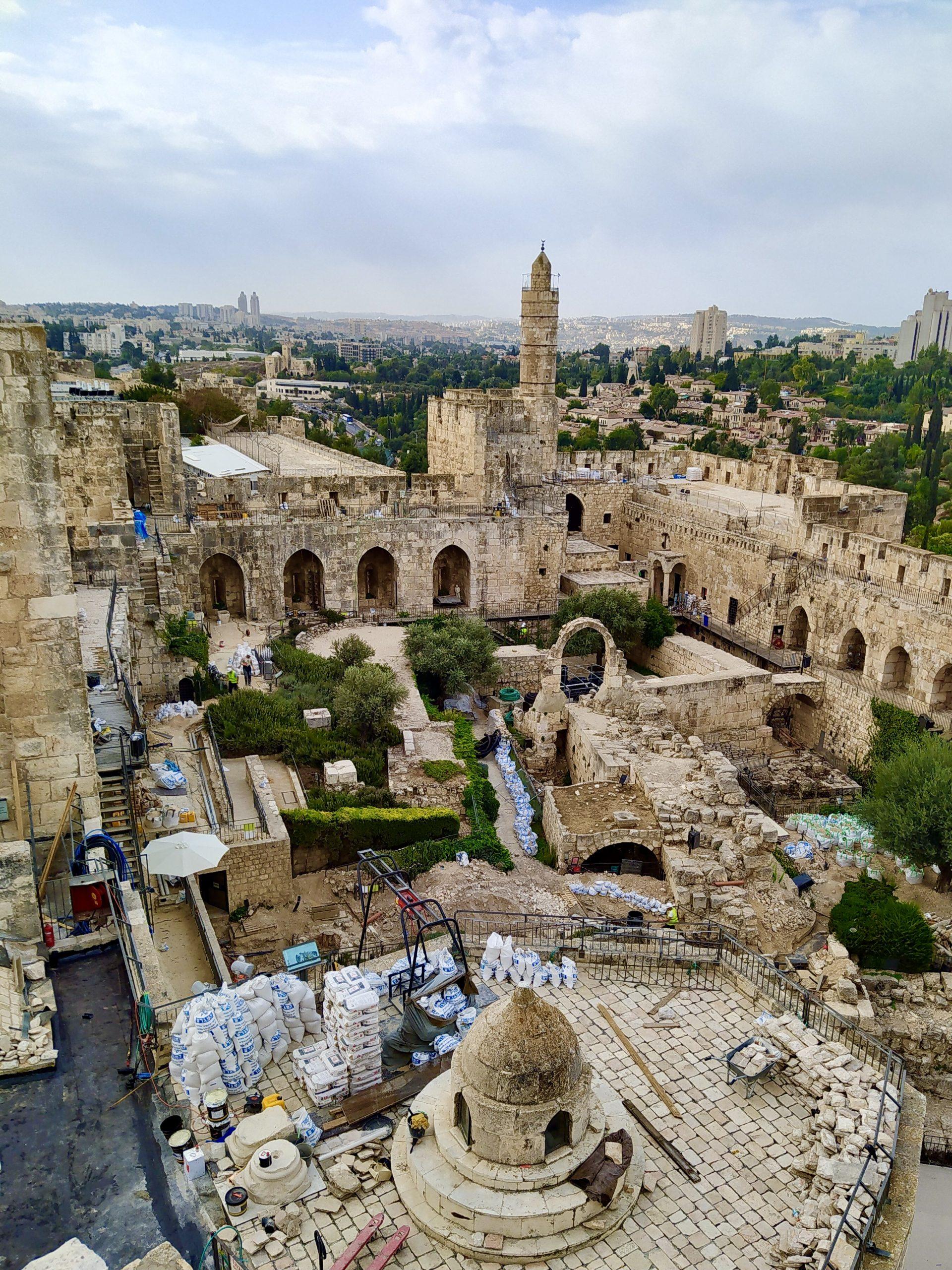 Иерусалим: Цитадель с птичьего полета. Предоставлено пресс-службой музея