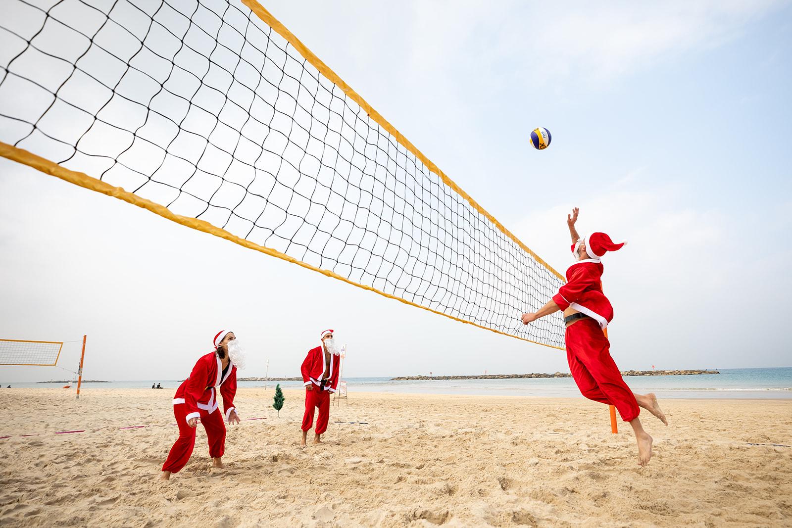 Сантабол: Тель-Авив встречает Рождество: фото предоставлено: YoSee Gamzoo Letova / Tel Aviv Global & Tourism