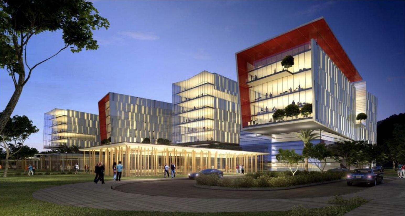 Хайфа МАТАМ: новый проект строительства