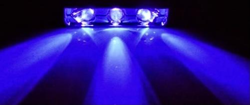 Уф-светодиоды: 285 нанометров