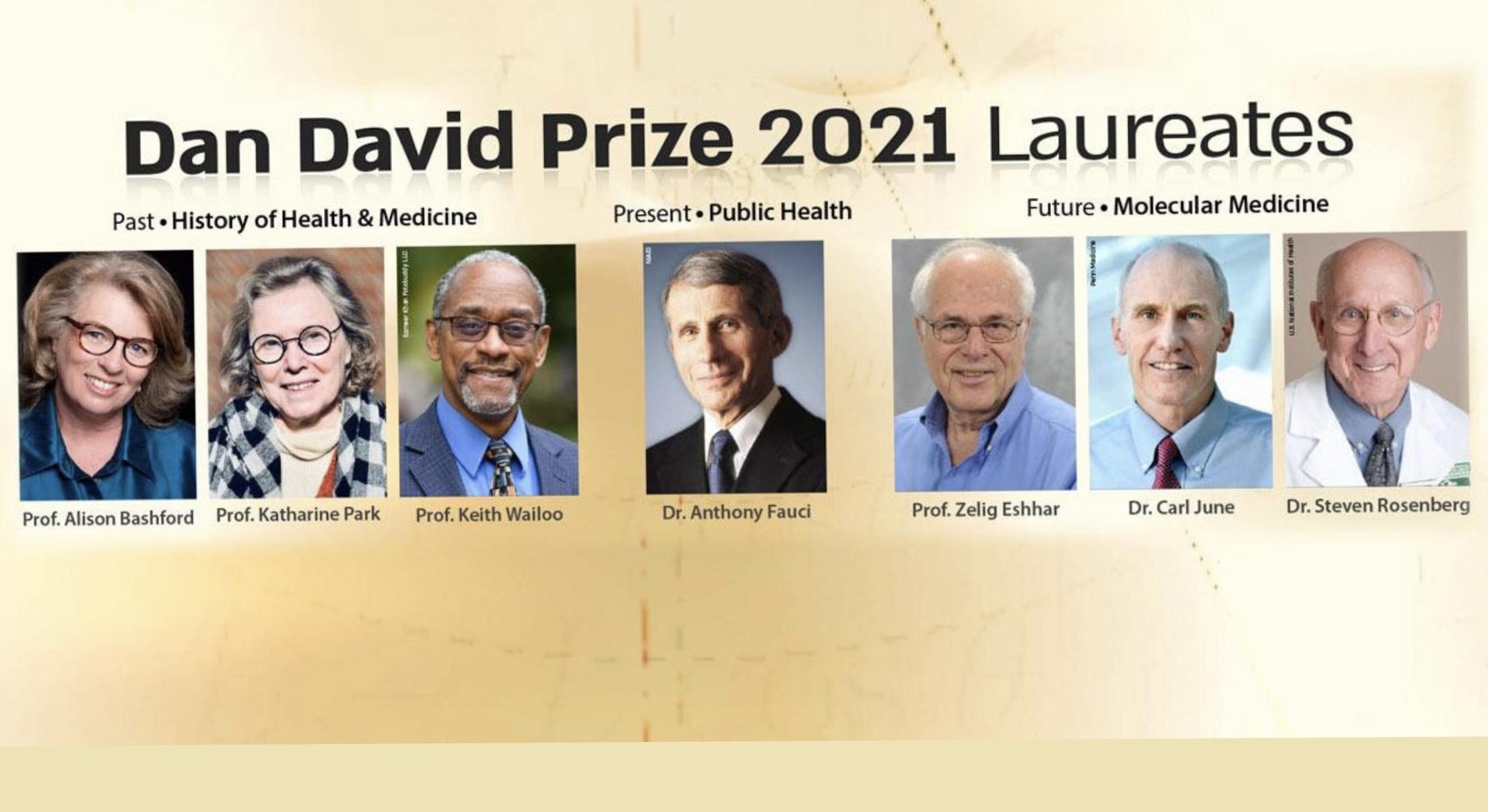 Фонд Дэна Дэвида: ежегодная премия за вклад в решение глобальных проблем