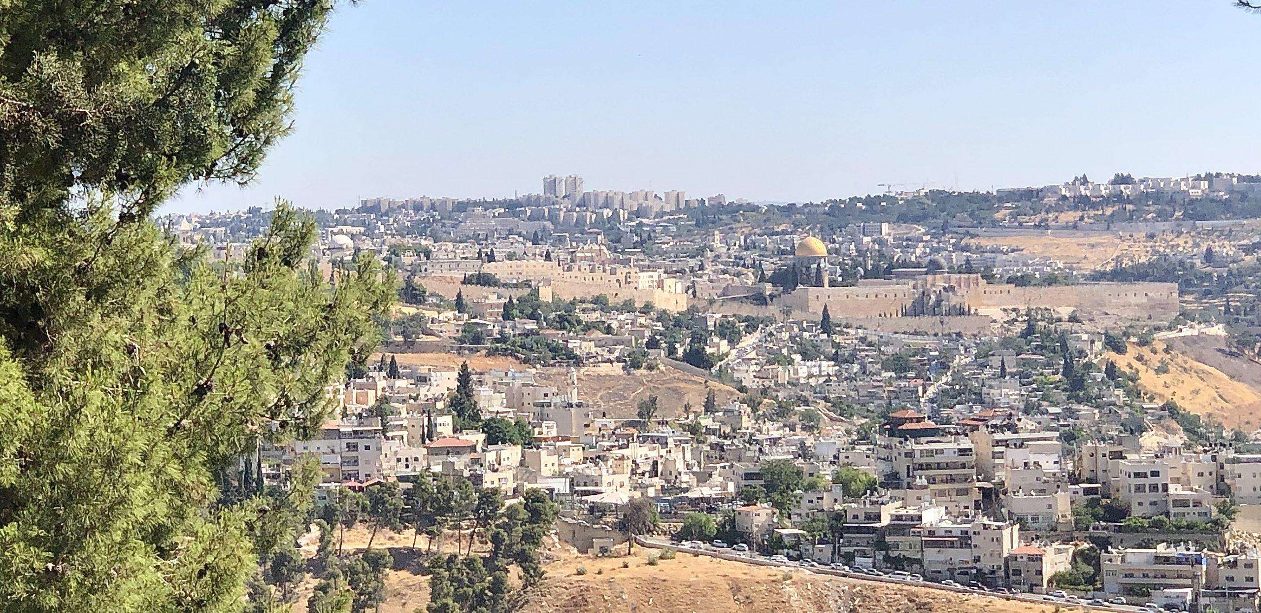Вид на Восточный Иерусалим. Фото Елены Шафран