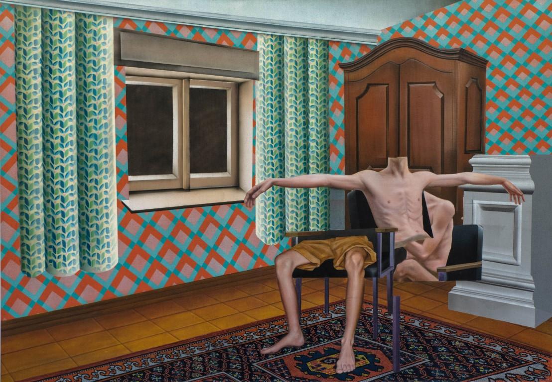 « «Свежая краска». Итай Матан «Без названия». Фото: Гади Ямпель